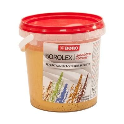 Акрилатен латекс БОРОЛЕКС със специални ефекти - GOLD - 1 кг