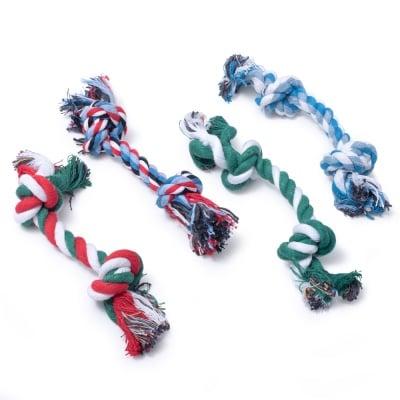 Памучно въже с два възела JUNGLE - играчка за куче