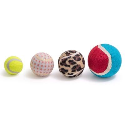 Играчка за куче тенис топка от плътна гума - 6.3 см
