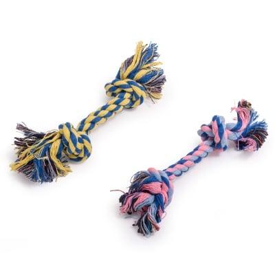 Играчка за куче - памучно въже 15 см