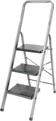 Алуминиева стълба с PVC стъпала - 3