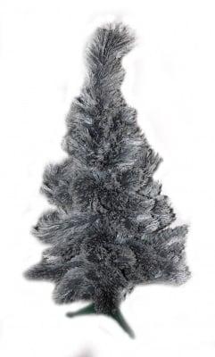 Коледна елха - сребърна 100 см.