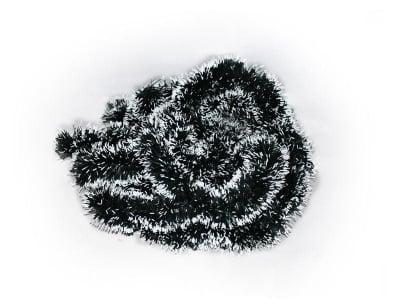 Коледна украса гирлянд със заснежен ефект 1