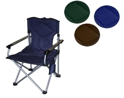 Сгъваем рибарски стол - различни цветове