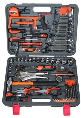 Комплект ръчни инструменти в куфар 78 части - Bolter