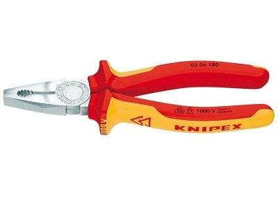 Комбинирани клещи 180 мм. - KNIPEX
