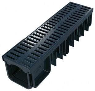 Канал с пластмасова решетка 130/90 0.5 м. XDRAIN - Devorex