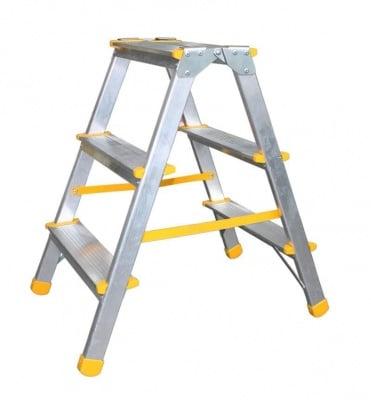 Дустранна алуминиева стълба 2x3 EUROSTYL - ALVE