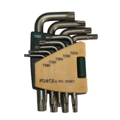 Комплект Г-образни ключове с дупка 5098T FORCE
