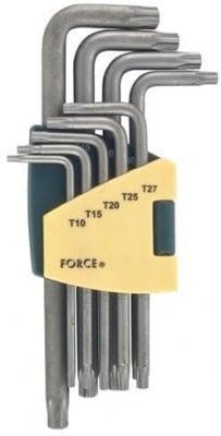Комплект ключове шестограми Г-образни - FORCE