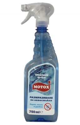 Препарат за размразяване на автостъкла Motox 750 мл.