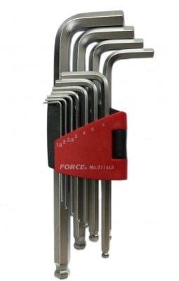 Комплект имбуси (1,5 - 12 мм.) - FORCE