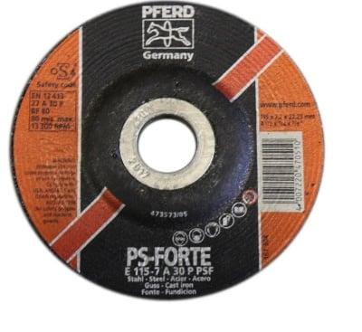Диск за шлайфане на метал 115 х 7,2 мм. - PFERD