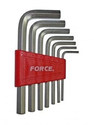 Комплект шестограми Г-образни 7 бр. - FORCE
