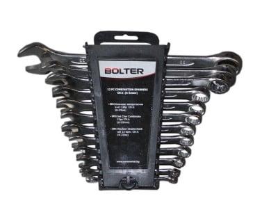Комплект звездогаечни ключове 6-22 мм. 12 бр. - BOLTER