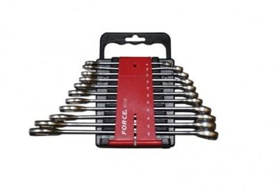Комплект звездогаечни ключове 11 бр. 8-22 мм. - FORCE