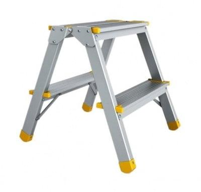 Двустранна алуминиева стълба 2х2 EUROSTYL - ALVE