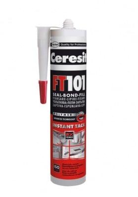 Силикон FT101 сив Ceresit 600 мл.