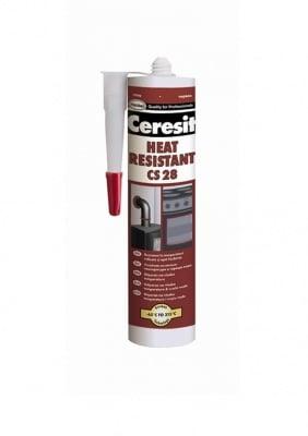 Термоустойчив силикон червен -CERESIT