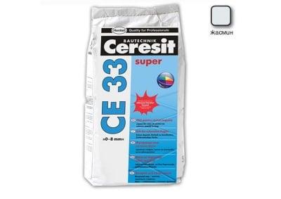 Фугираща смес за запълване на фуги цвят жасмин - CERESIT