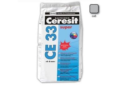 Фугираща смес за запълване на фуги  цвят сив - CERESIT