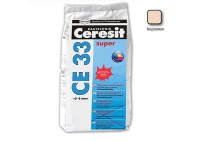 Фугираща смес за запълване на фуги цвят карамел - CERESIT