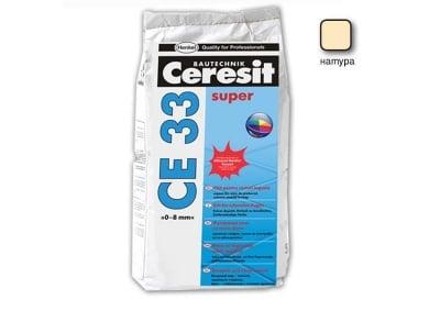 Фугираща смес за запълване на фуги цвят натура - CERESIT