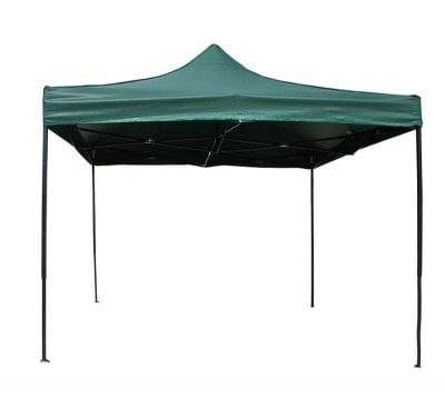 Сгъваема шатра 3 х 3 м. -  зелена
