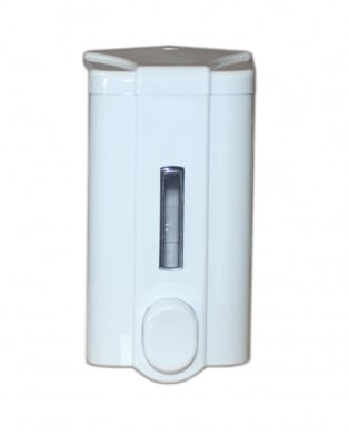 Дозатор за течен сапун  бял с ключ 1 л. - VIALLI