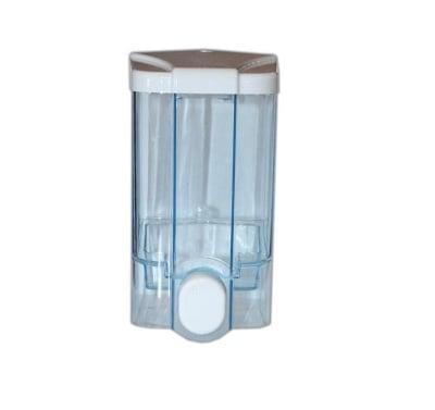 Дозатор за течен сапун прозрачен с ключ 1 л. - VIALLI