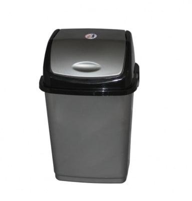 Кош за отпадъци 10 л. сив - FANTAZI