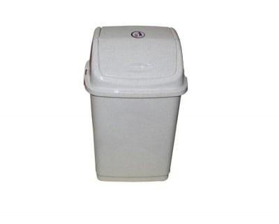 Кош за отпадъци 18 л. мрамор - FANTAZI