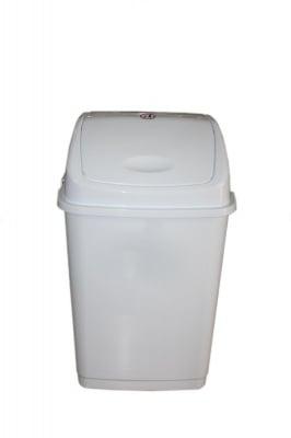 Кош за отпадъци 35 л. бял - FANTAZI