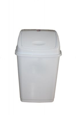 Кош за отпадъци 5 л. бял - FANTAZI