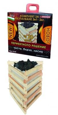 Комплект разпалки с въглища RTR Premium