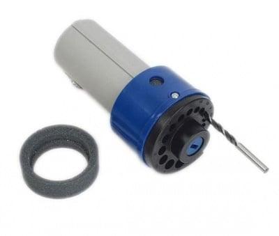 Уред за заточване на спирални свредла