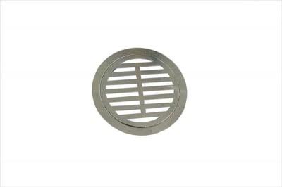 Решетка за сифон кръгла хром Ф80