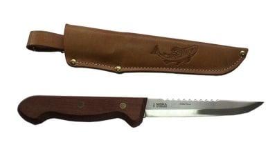 Рибарски нож с дървена дръжка Mora