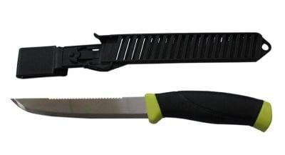 Рибарски нож в платмасов калъф Mora
