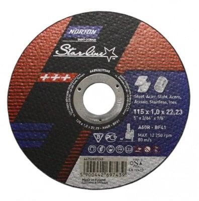 Карбофлексов диск за метал и Inox ф115 - Norton