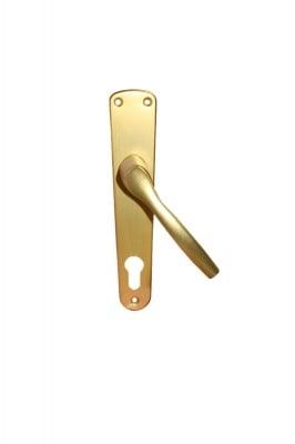 Дръжка GABRI шилд 90 мм. за патрон злато