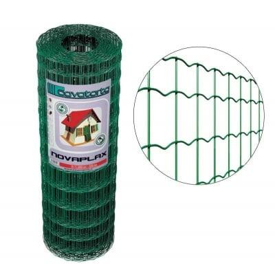 Заварена мрежа с PVC покритие h153 Novaplax