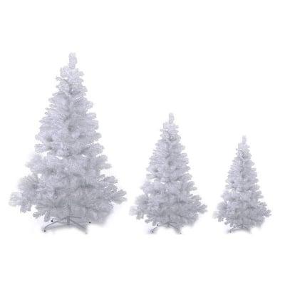 Бяло коледно дръвче 90 см.
