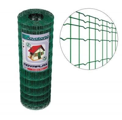Заварена мрежа с PVC покритие h153 Combiplax