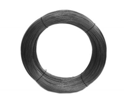 Тел черен мек 0,8 мм.