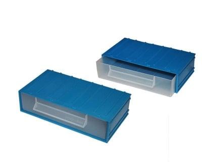 Кутия с чекмедже синя №12
