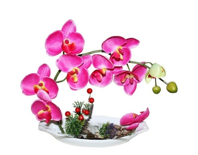 Изкуствена орхидея М-047