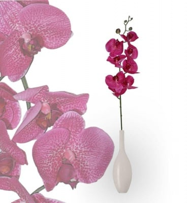 Изкуствено цвете, орхидея 84 см.