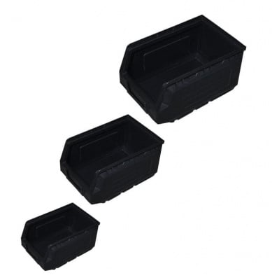 Кутия 500 х 320 х 200 мм. черна