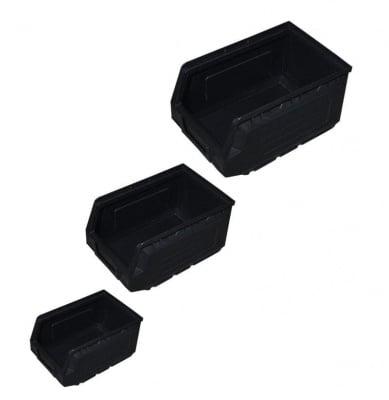 Кутия 82 х 100 х 52 мм. черна